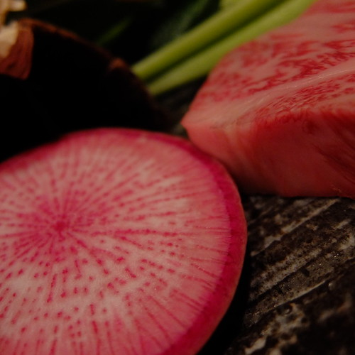 red Japanese radish