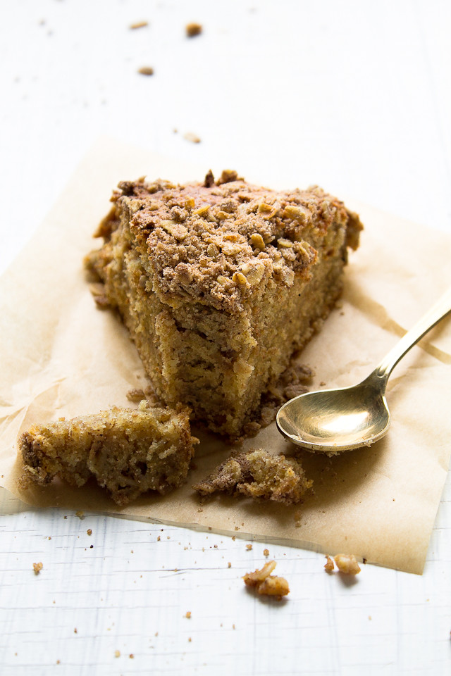Pumpkin and Sour Cream Coffee Cake