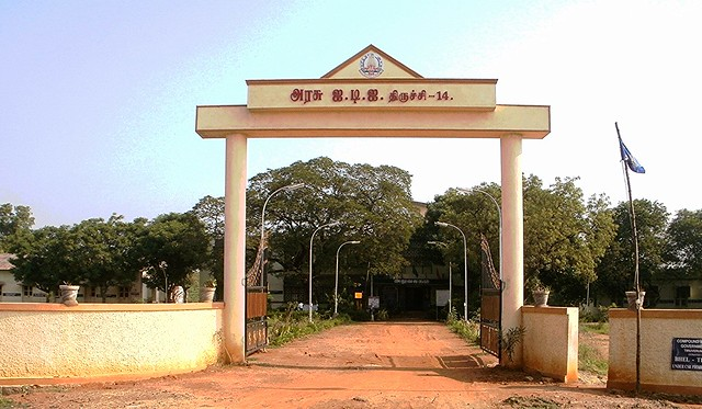 GOVT INDUSTRIAL TRAINING INSTITUTE.TRICHY