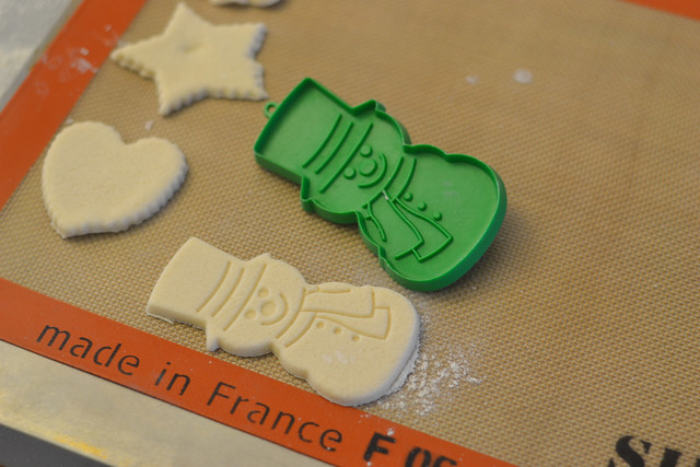 Salt dough ornaments to bake