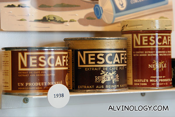 Nescafe from 1938