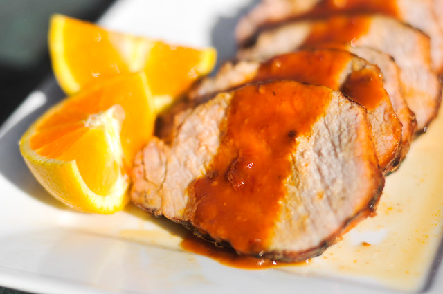 Grilled Orange-Chipotle Pork Loin Recipe :: The Meatwave