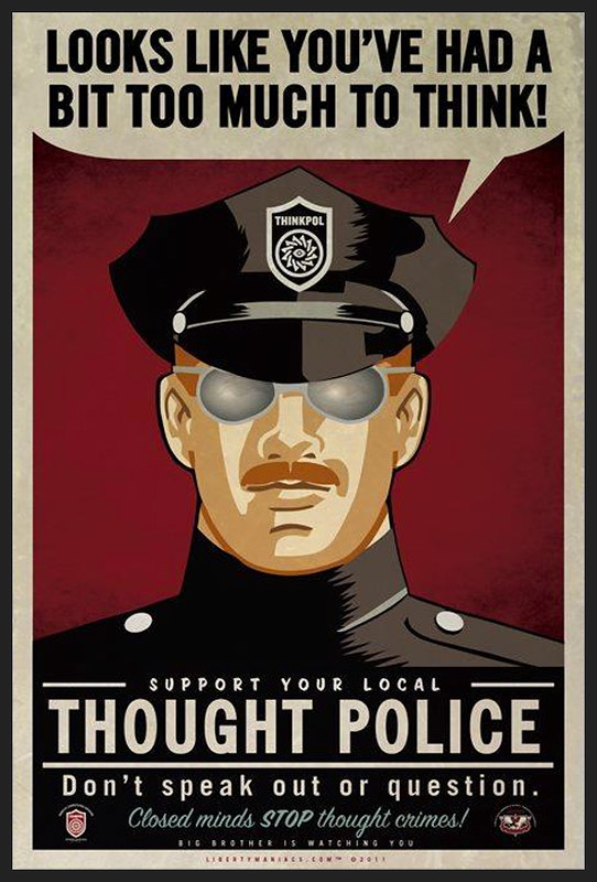 Nanny State Thought Police