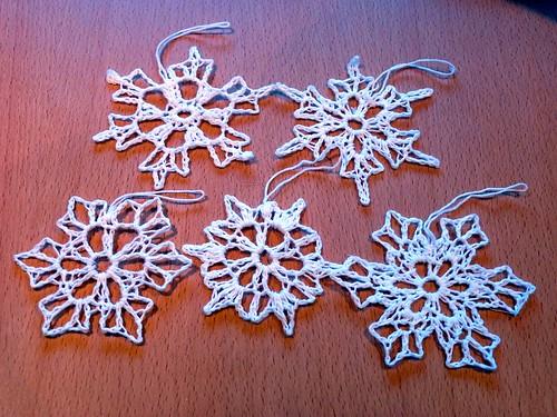 Stiffy Snowflakes