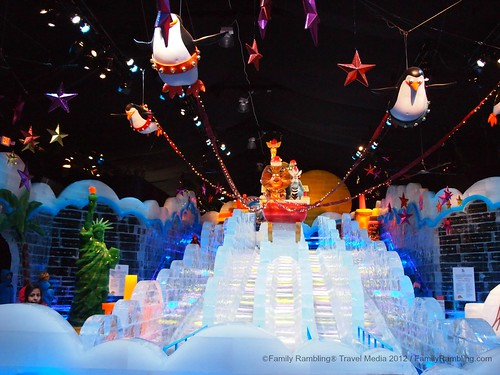ICE slides at Gaylord Texan