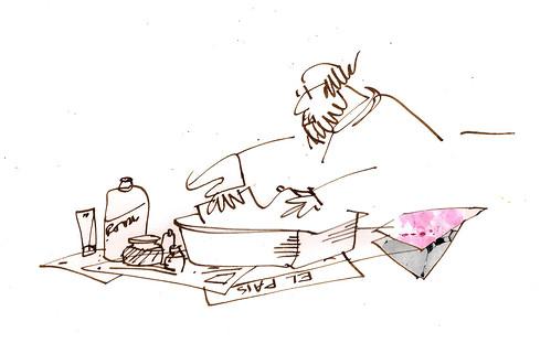 manchando papeles