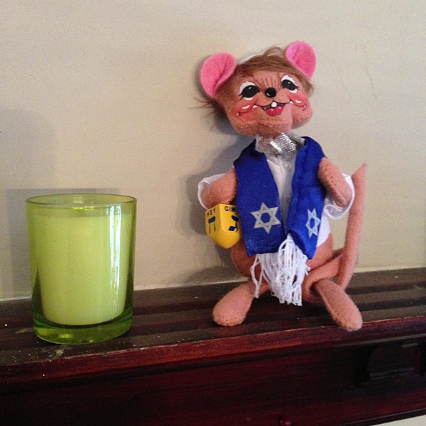 Rabbi Rat on the Shelf: A Hanukkah Tradition Since 5 Minutes Ago.