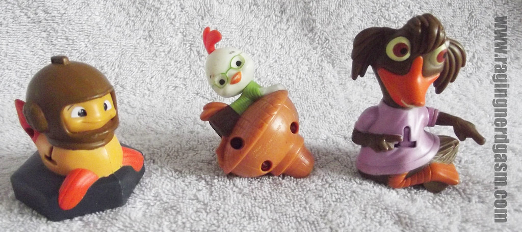 Disney's Chicken Little McDonald's Happy Meal Toys_