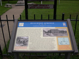 Virginia Civil War Trails--Huguenot Springs, Confederate Hospital and Cemetery