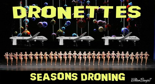 DRONETTES by Colonel Flick/WilliamBanzai7