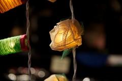 Fairy lights - Christmas Fair on Southbank