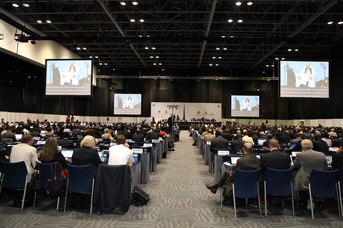 ITU WCIT-12 plenary room
