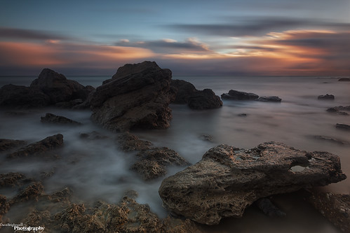 Dawn Rocks by Dave Brightwell