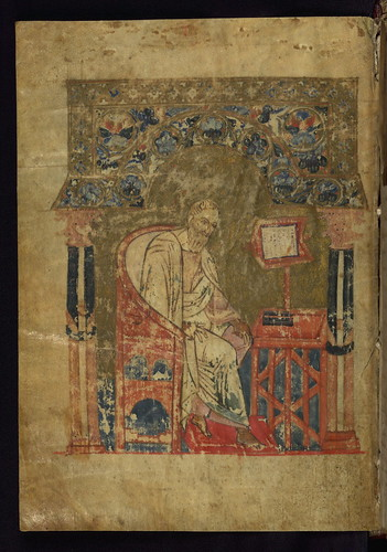 Gospel Book, The Evangelist John, Walters Manuscript W.523, fol. 4v by Walters Art Museum Illuminated Manuscripts