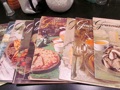 Gourmet magazines from the 50's & 60's by annbumbly