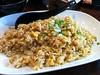 Garlic rice from from Megumi Japanese Restaurant
