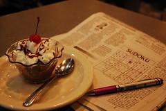 A Puzzling Dessert ?