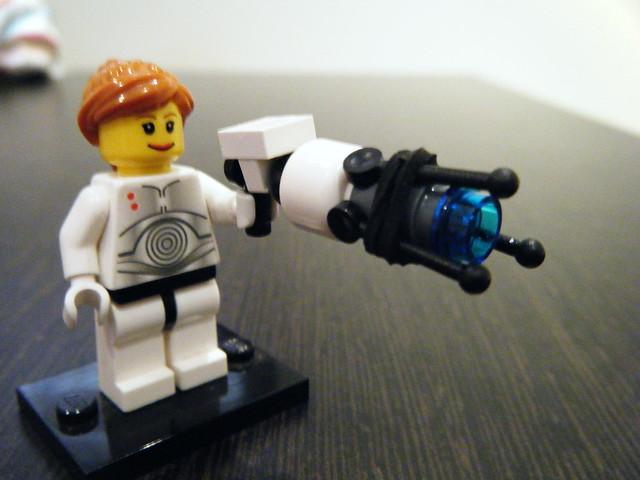 how to make a lego portal gun