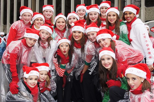 Rogers Santa Claus Parade 2012 Christmas in Vancouver with London Games Canadian Athletes & Medalists as Grand Marshal