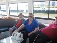 cruise boat inside