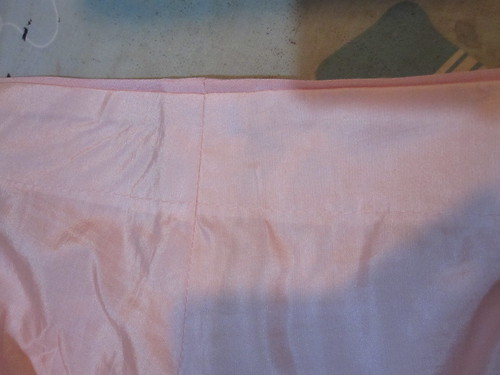 Turn of Cloth at Sleeve Edge