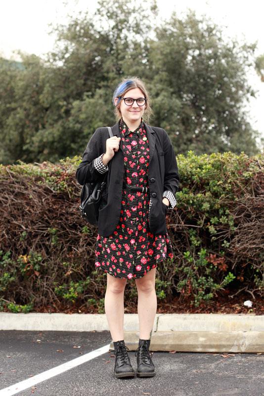sammi_pcc street style, street fashion, Pasadena, PCC Flea Market, women, Quick Shots