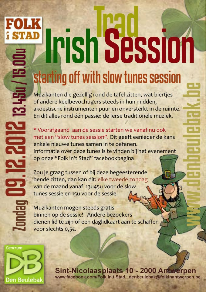 Beulebak Irish session