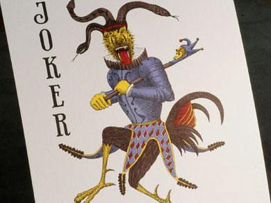Joker poster print