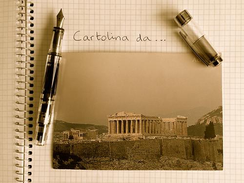 cartolina da Atene