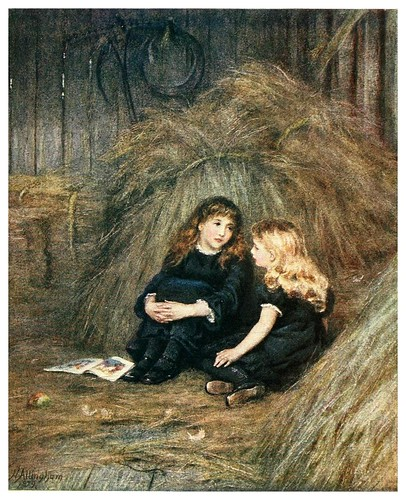 016- En el henar-Happy England as painted by Helen Allingham-1903
