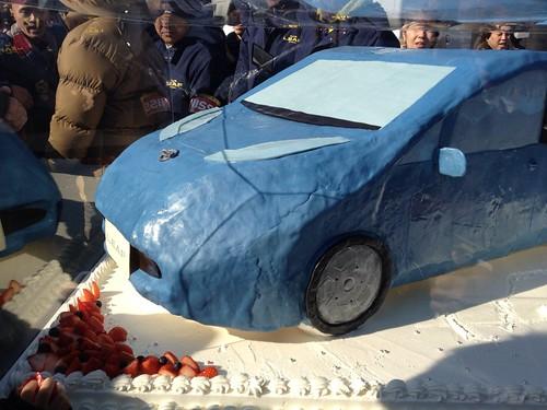 #leafnow1208 リーフ2歳おめでとうケーキ♪