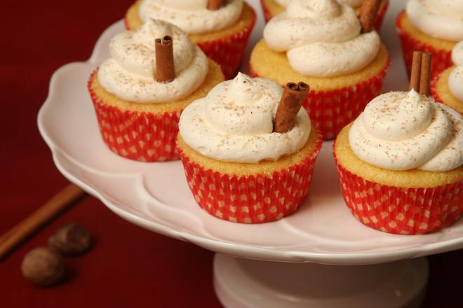 eggnog cupcakes 5