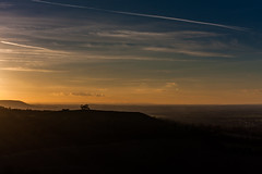 Pulpit Hill silhouette from Coombe Hill