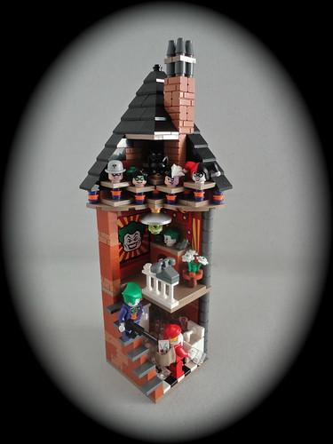 LEGO MOC Joker's X-mas 001