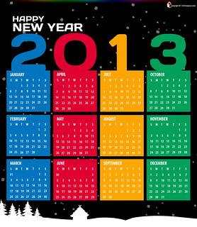 Printable Calendar for 2013