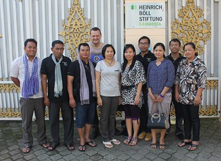 Team des Regionalbüros in  Phnom Penh, Cambodia