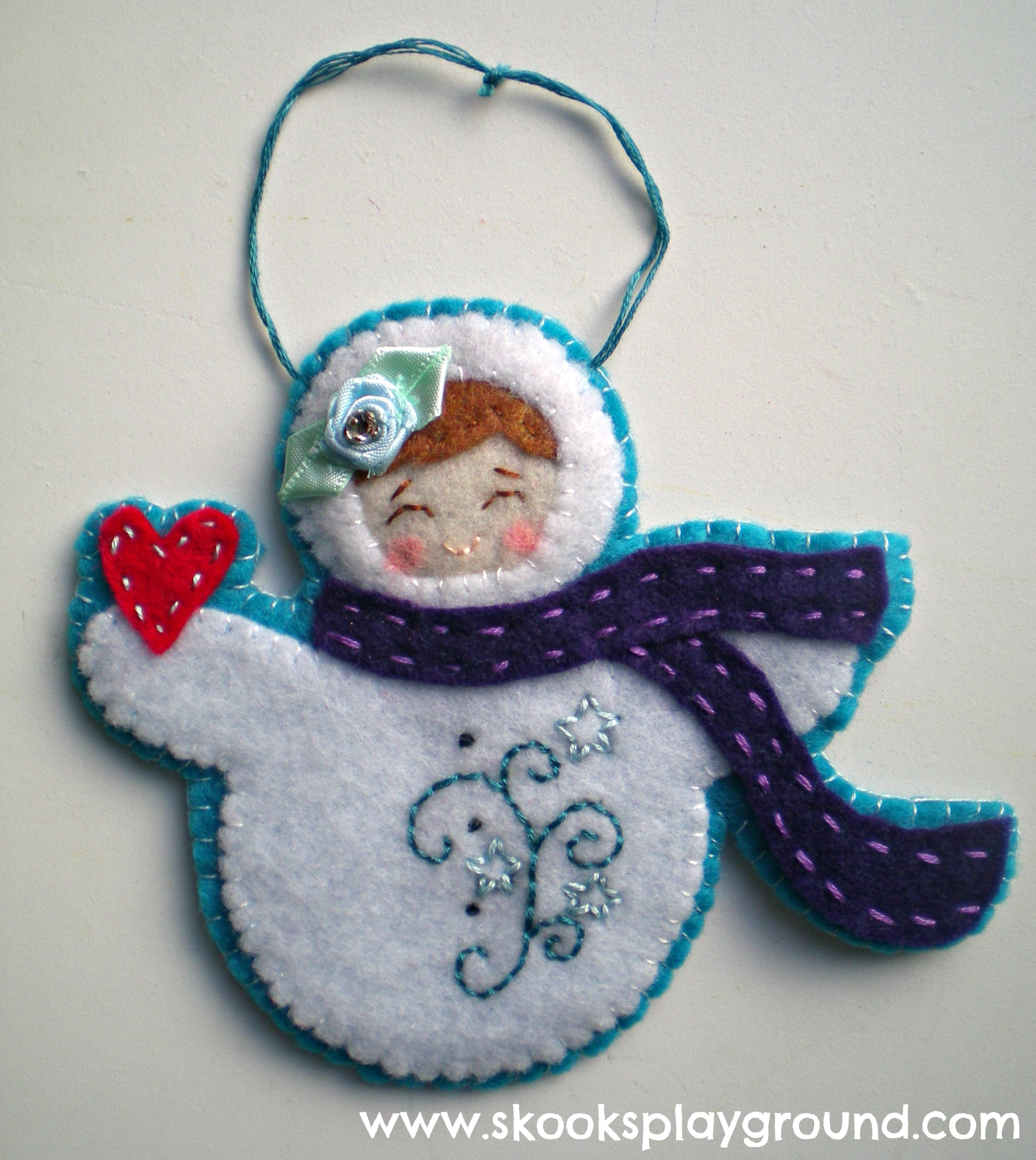 Snow Baby Ornament for Kiwi 2012