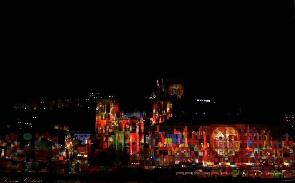 Fête+des+lumières+2012+Lyon+quais+de+saône