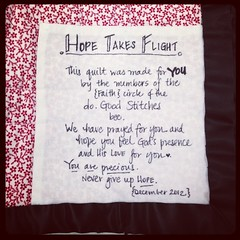 Hope Takes Flight ~ the label