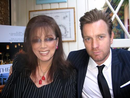 FW: Ewan McGregor with Jackie Collins
