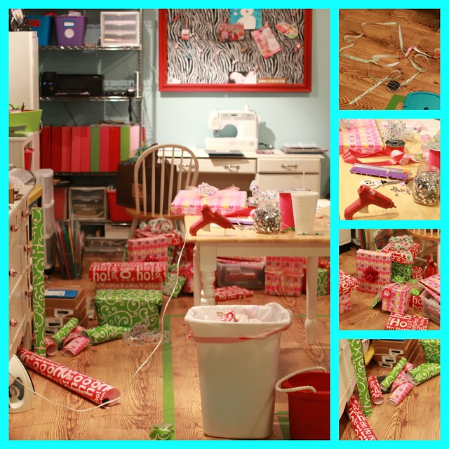 wrapping collage