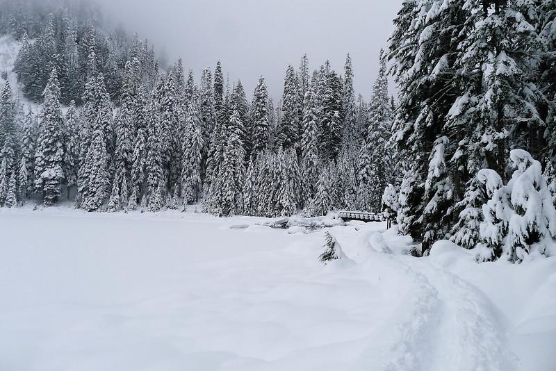 A Snowy Lake