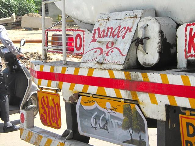 rear of truck detail