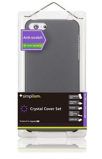 Simplism Crystal Cover iPhone 5 Casing