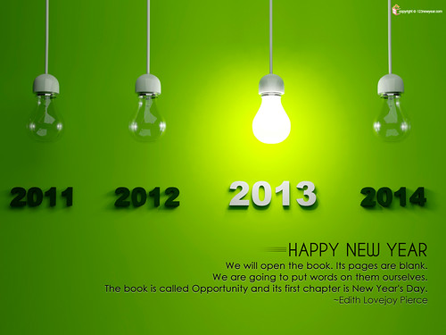 Wallpapers of Happy New Year 2013