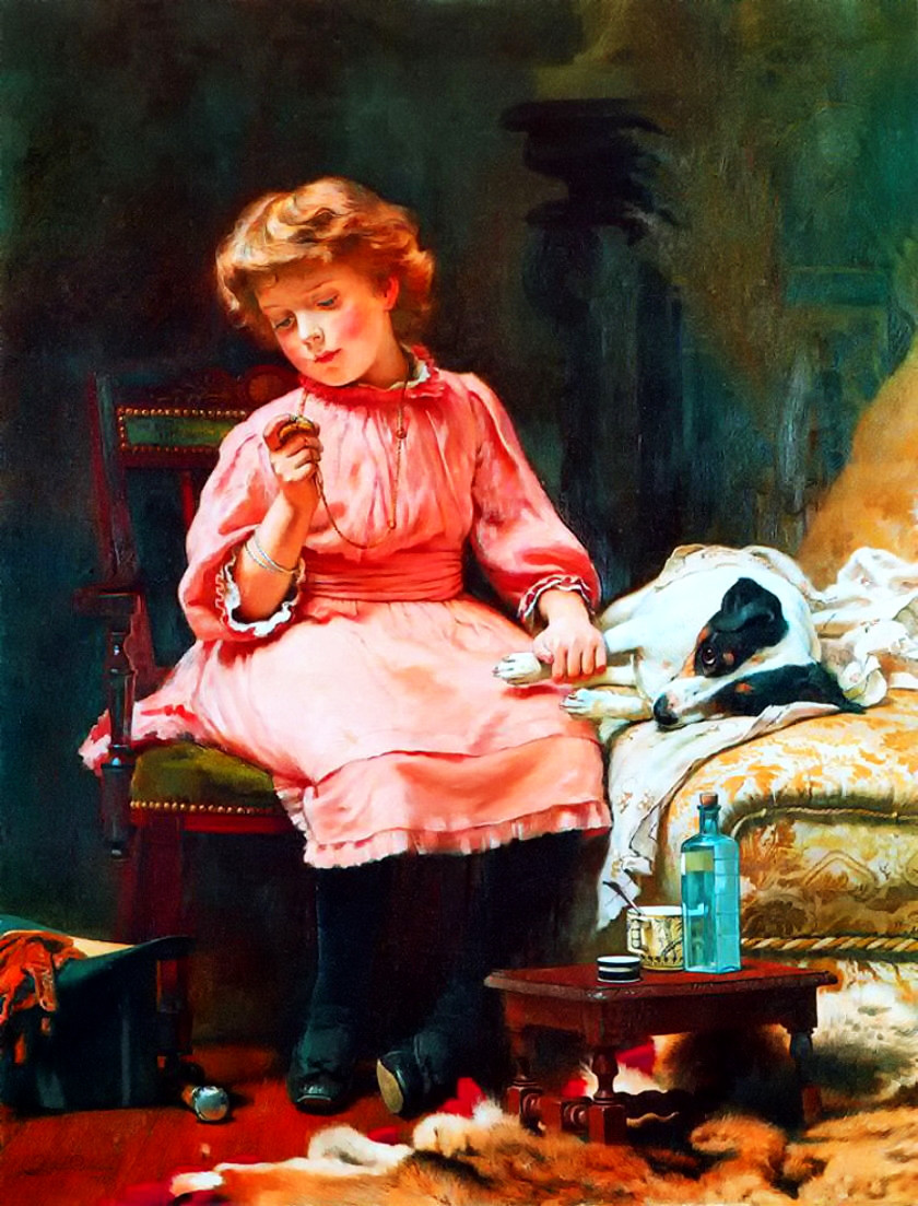 Not Much Wrong by Charles Burton Barber