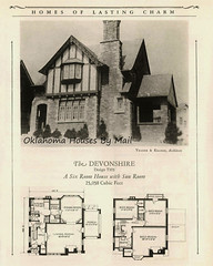 Common Brick Manufacturers' Association of America, Homes of Lasting Charm the Devonshire