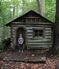 Henry-sized Cabin at Elmont Ghost Town | Great Smoky Mountains National Park