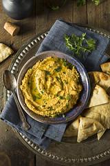 Homemade Greek Pumpkin Hummus