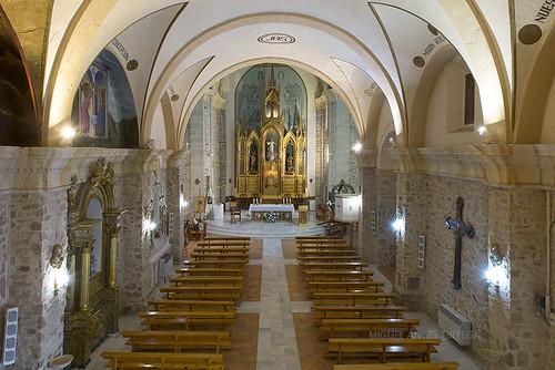 Iglesia de Talayuelas interior